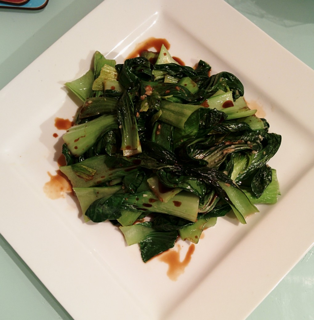 Super Easy, Super Healthy Bok Choy Recipe!