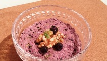 Blueberry Cheesecake Chia Pudding