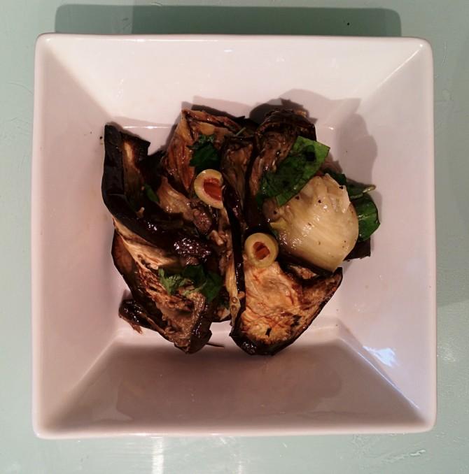 Mediterranean Style Eggplant