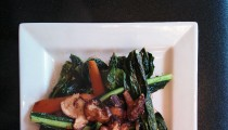 Healthy Kale and Shiitake Mushroom Recipe!