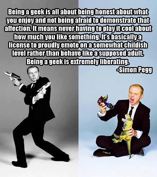 Simon Pegg meme in geeks