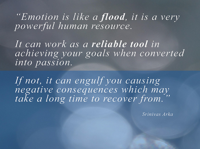 Quote on emotions