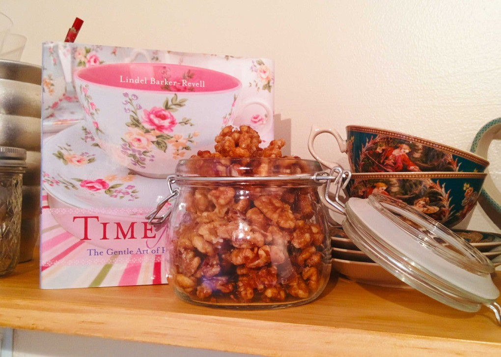Maple Syrup and Cinnamon Walnuts!