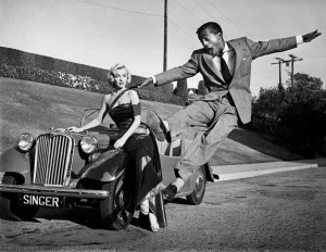 Marilyn Monroe, Sammy Davis Jr