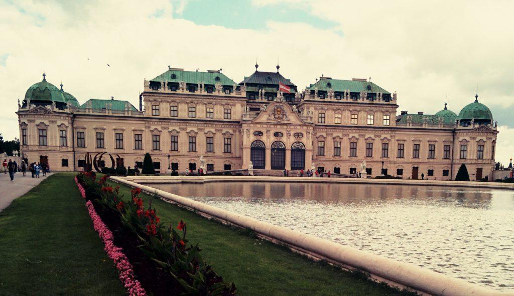Habsburg Palace Vienna Austria