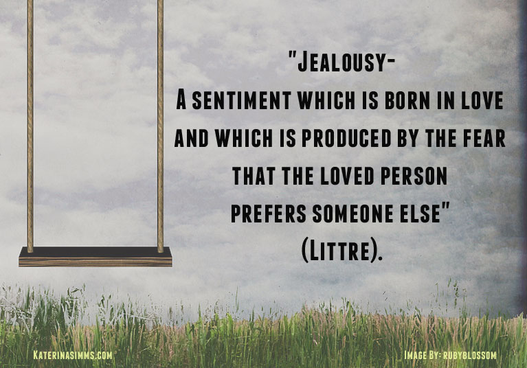 Jealousy quote by Littre