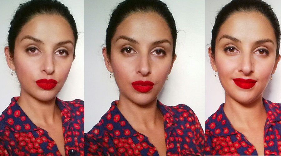 Katerina Simms Red Lipstick