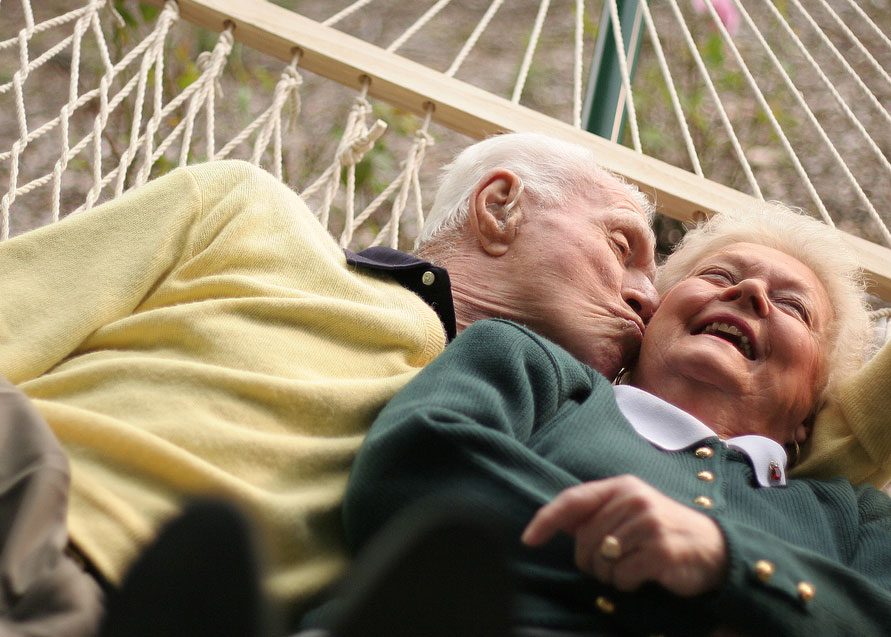 Feature Video: Touching Moment This Young Couple are Aged 70 Years.