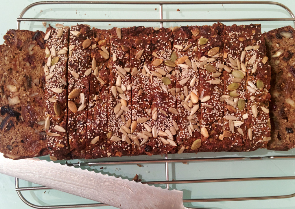 Recipe: Gluten-Free, Dairy-Free, High Protein Fruit and Nut Loaf!