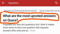 Somehow I've Achieved THE Most Voted Answer on Quora!
